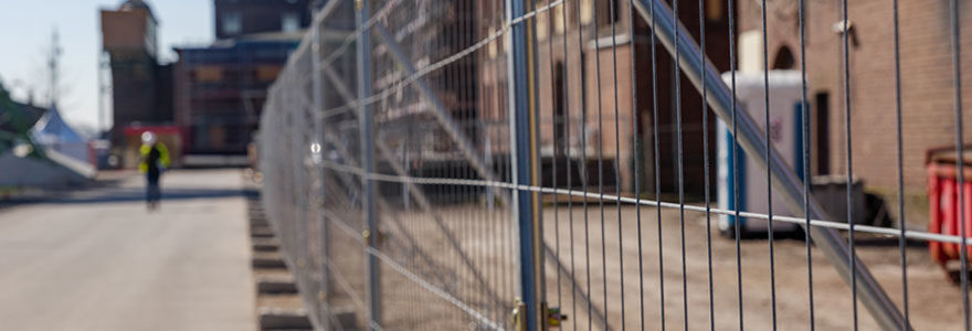 Grilles et clôtures de chantier